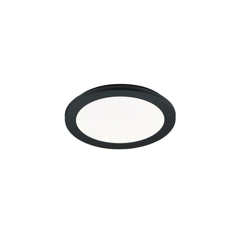 Plafonnier Camillus led noir mat IP44