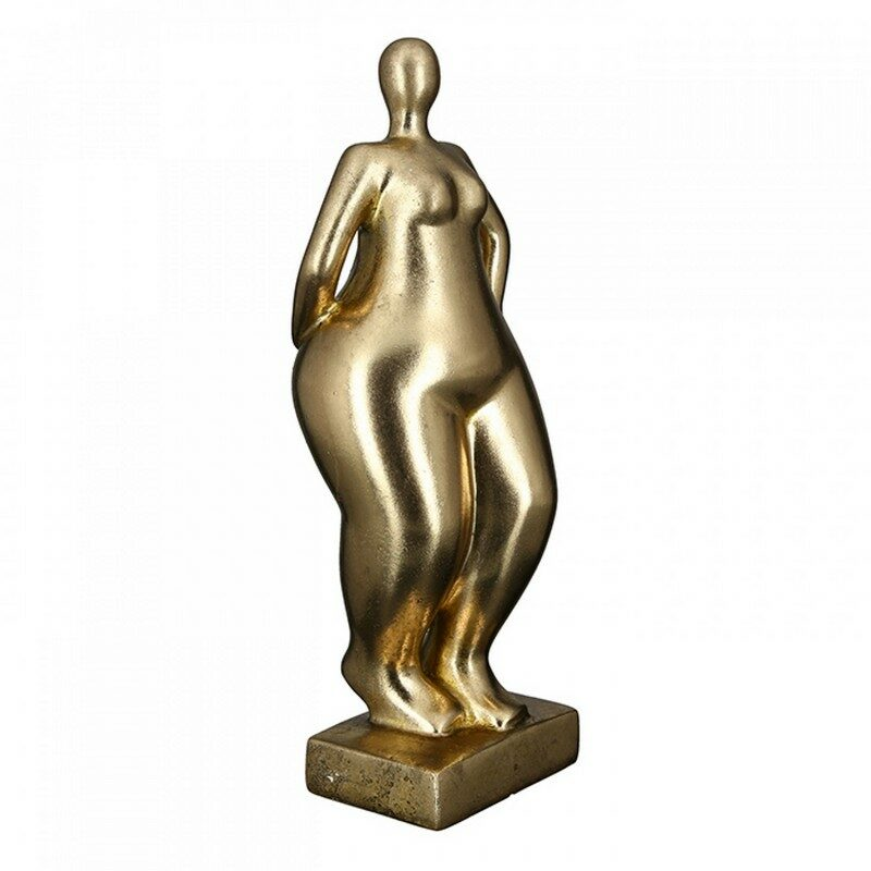 Sculpture Ballerine dorée finition antique