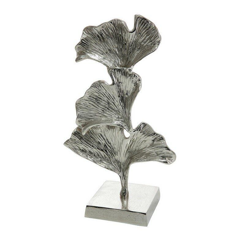 Sculpture Ginkgo argent