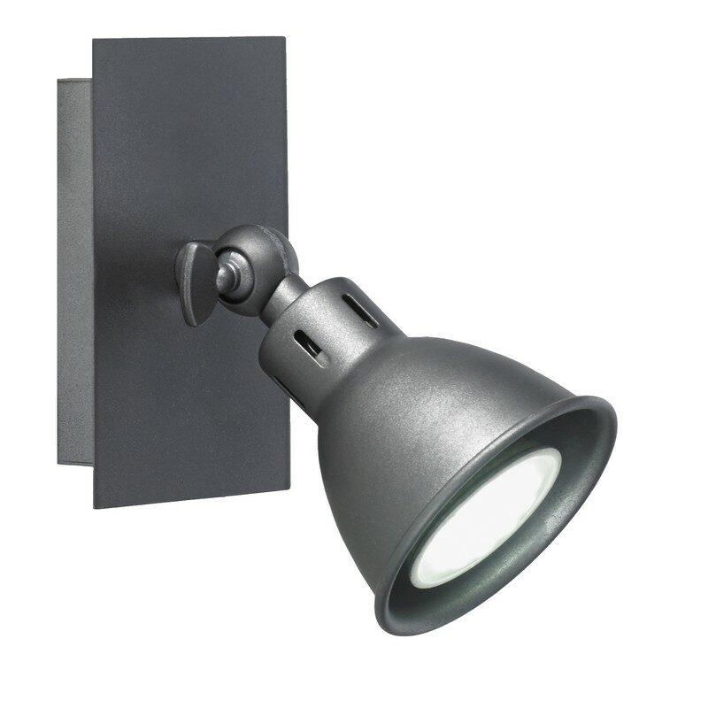 Spot 1 lumière gris anthracite