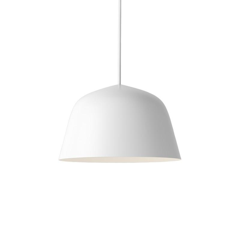 Suspension coupole design Ambit blanche 25 cm – Muuto