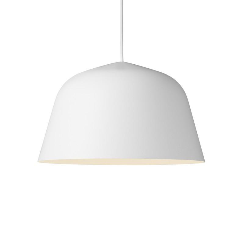 Suspension coupole design Ambit blanche 40 cm – Muuto