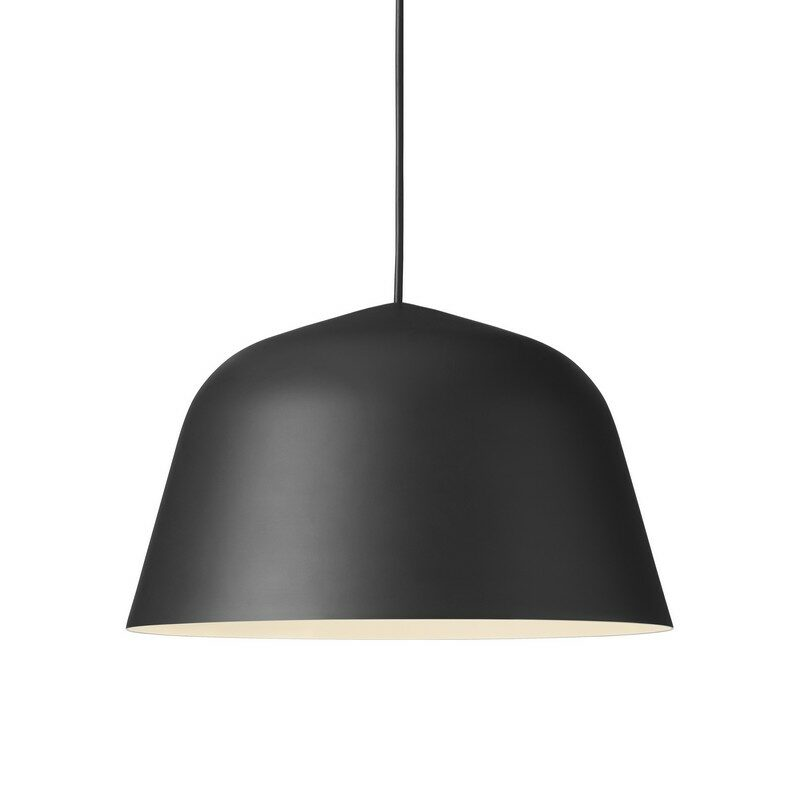 Suspension coupole design Ambit noire 40 cm – Muuto