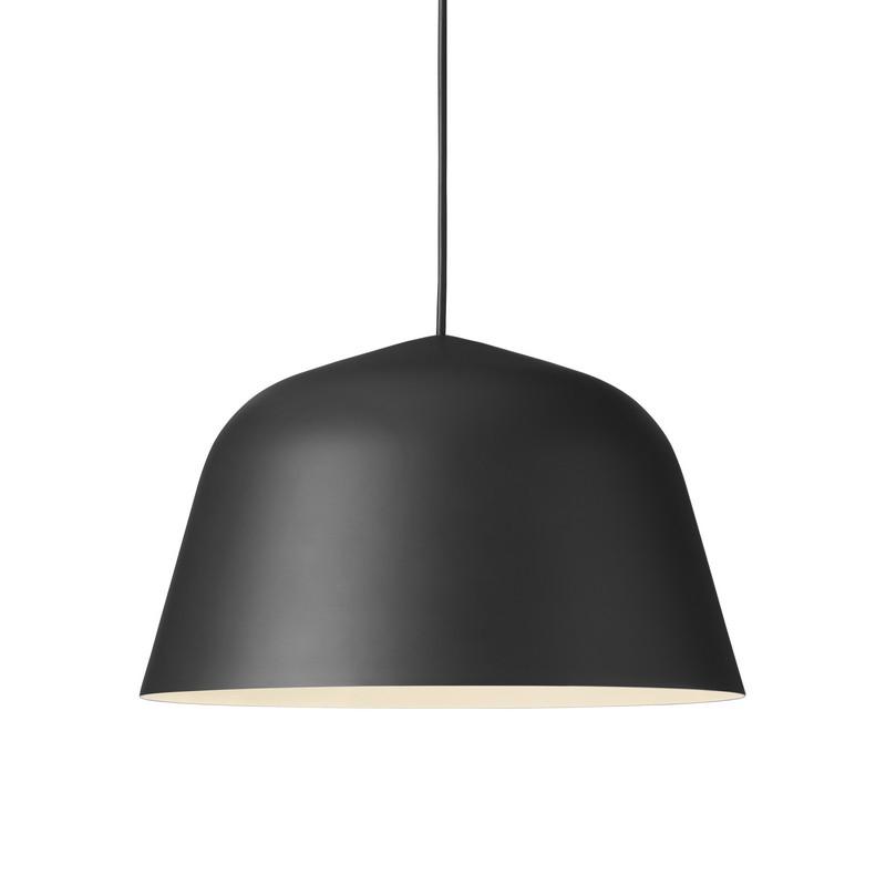 Suspension coupole design Ambit noire 40 cm – Muuto