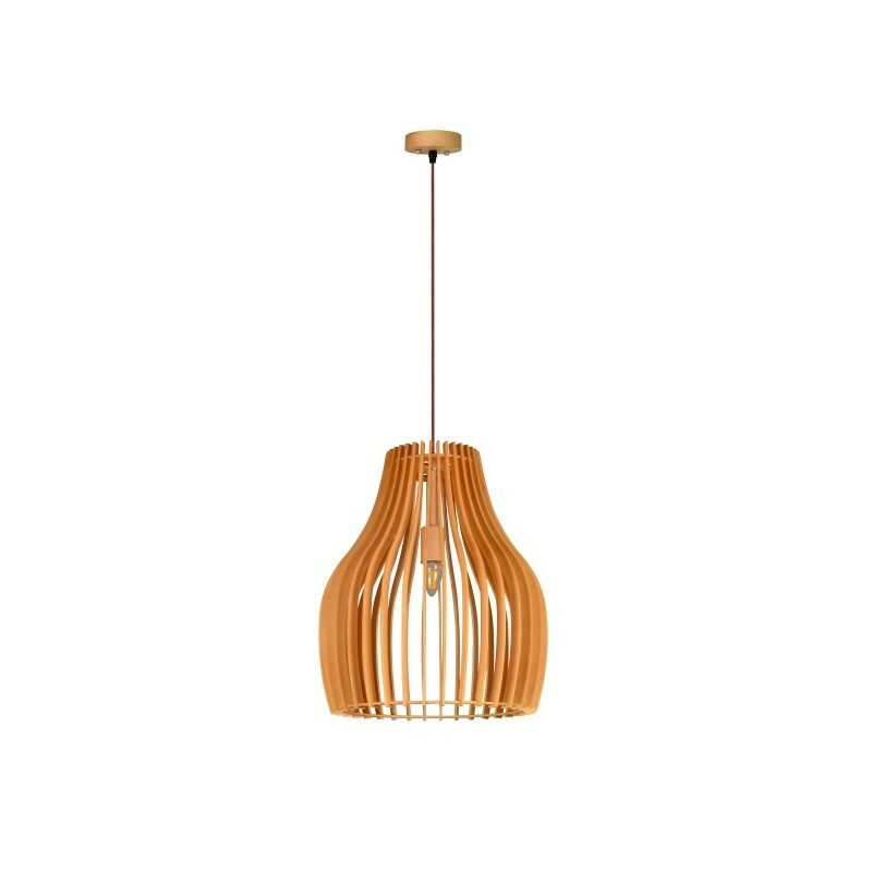 Suspension Mistral bois naturel 50 cm
