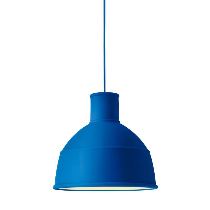 Suspension Unfold bleu en silicone