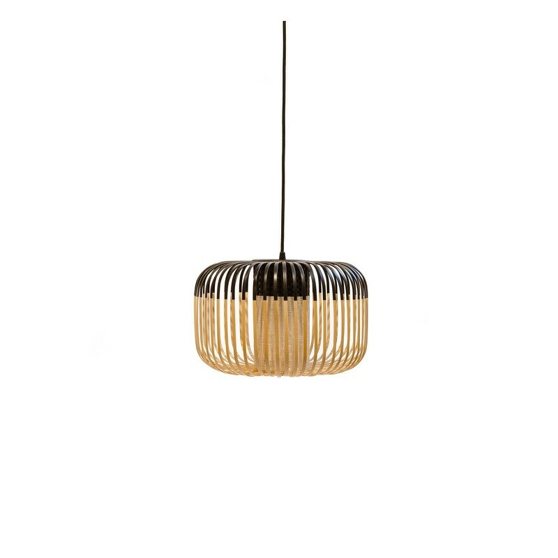Suspension Bamboo light small noire d.35 cm – Forestier