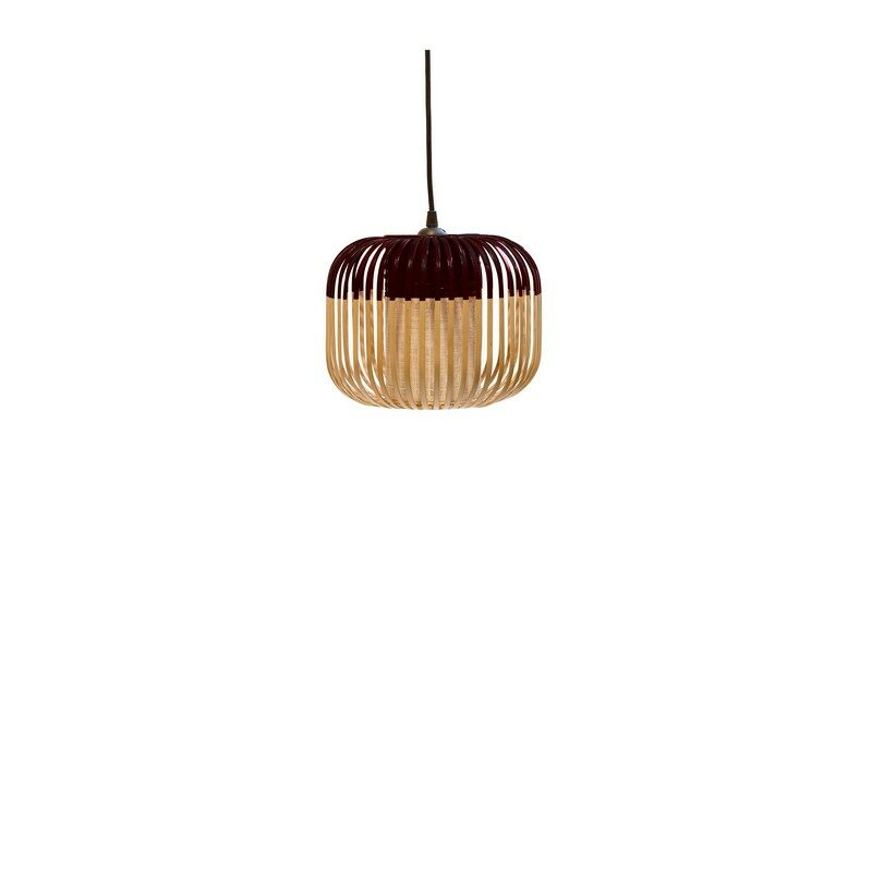 Suspension Bamboo light extra small noire d.27 cm – Forestier