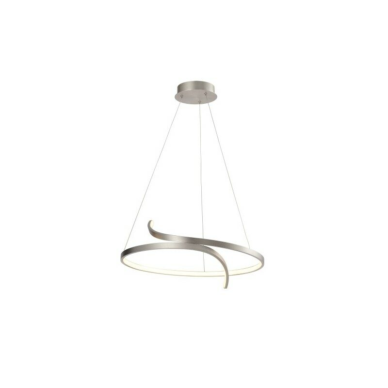 Suspension led nickel satinée variable Trinit