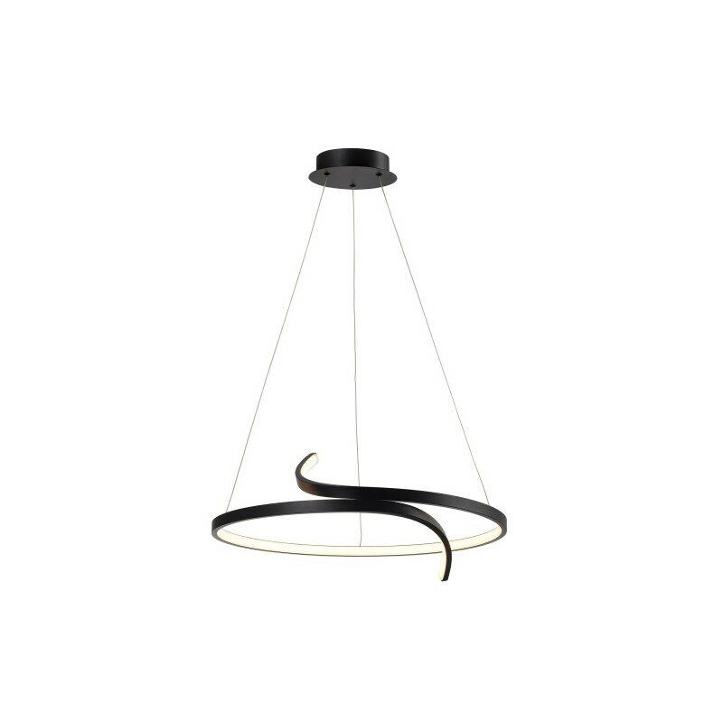 Suspension led noire variable Trinit