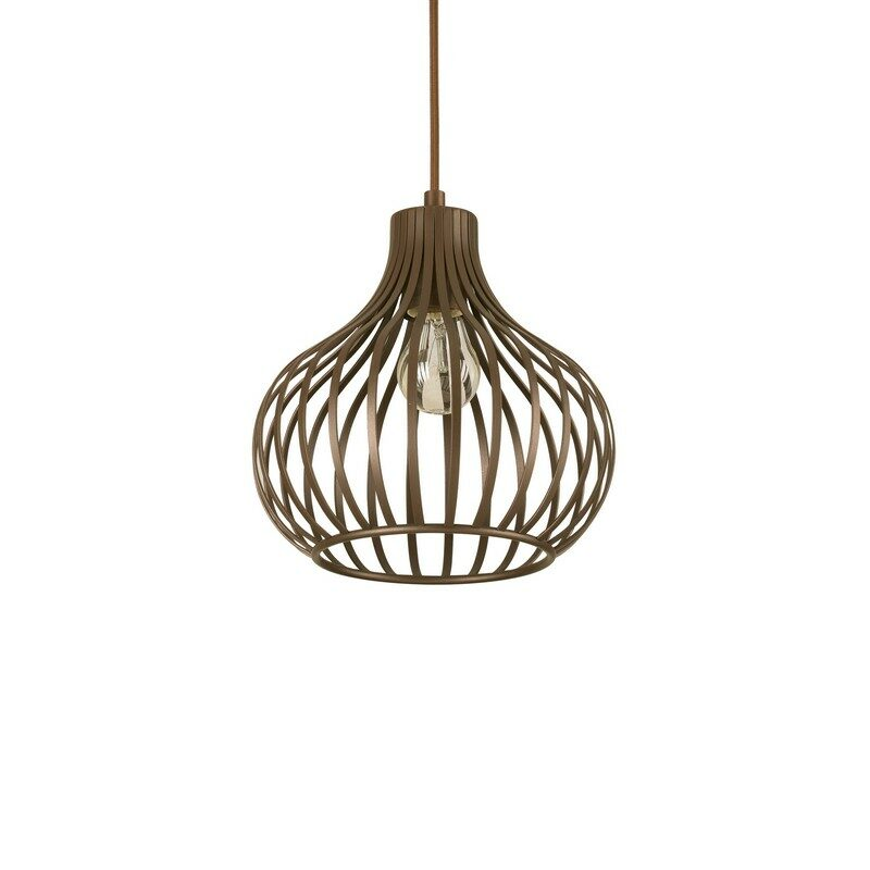 Suspension Onion marron 23 cm