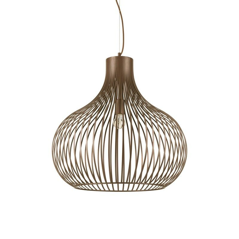 Suspension Onion marron 60 cm