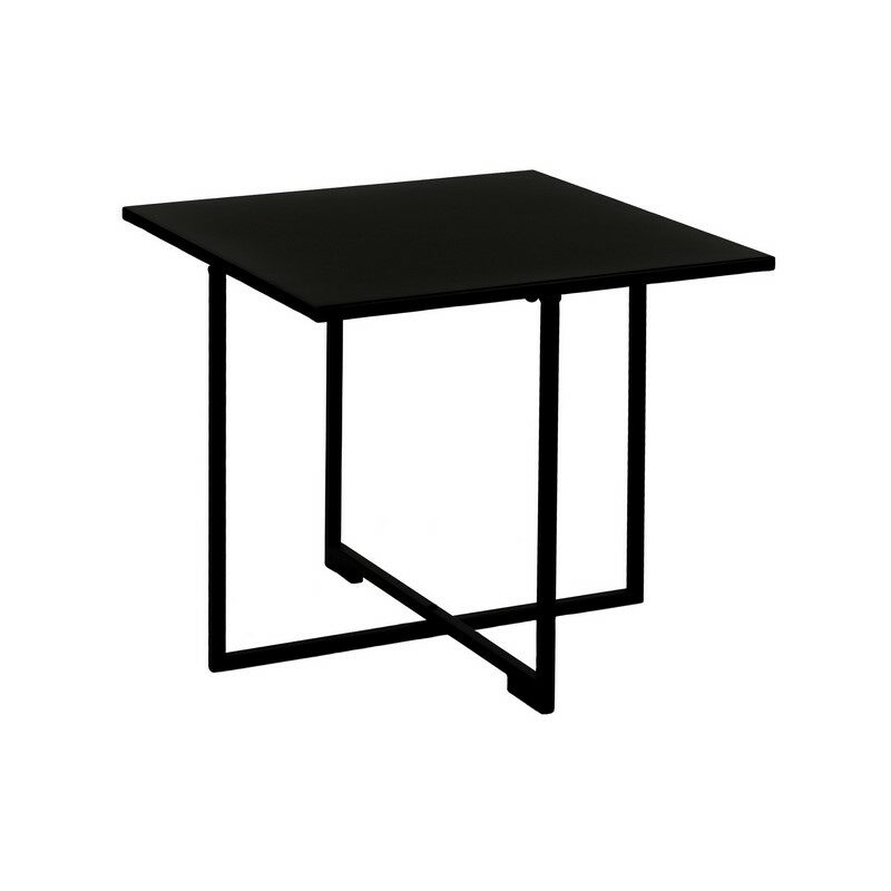 Table basse Seattle métal noir moyen modèle