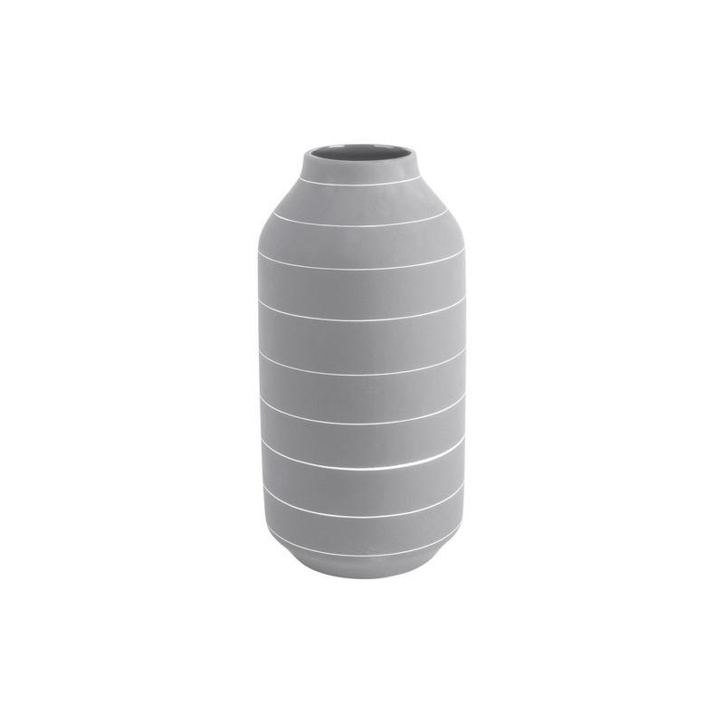 Vase Terra gris 30 cm