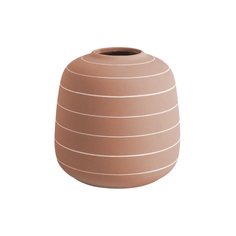 Vase Terra rose 16.5 cm