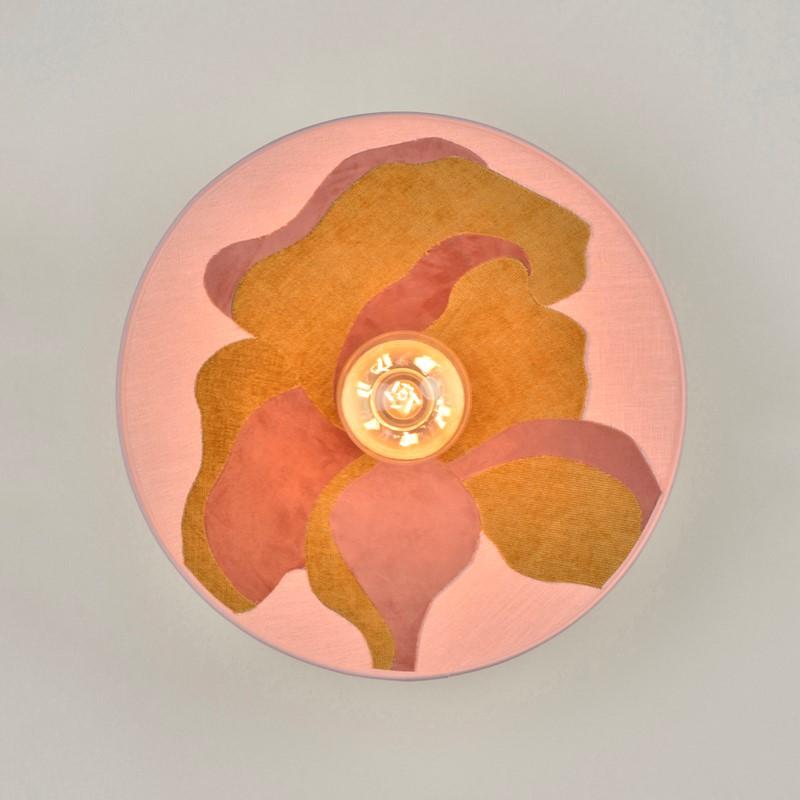 Applique Sonia Laudet Nostalgia pivoine 40 cm