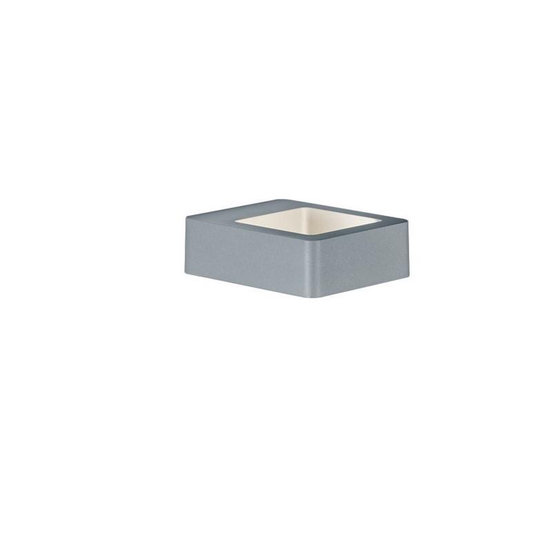 Applique extérieure LED Reno gris clair