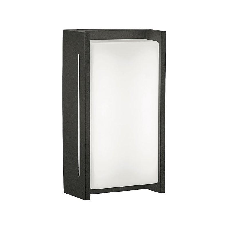 Applique extérieure LED noire IP54 Harmony