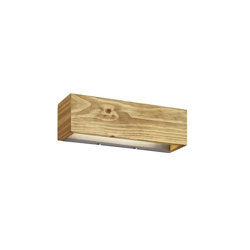 Applique en bois LED Brad