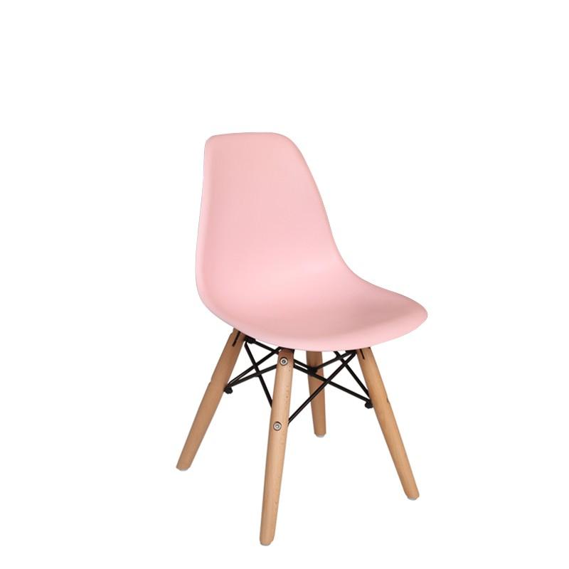 Chaise enfant rose Dali