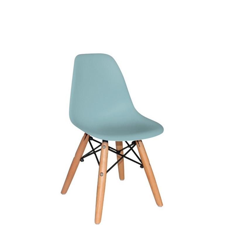 Chaise enfant vert d'eau Dali