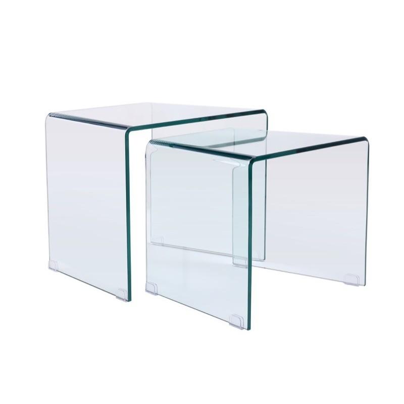 Bout de canapé transparent Source