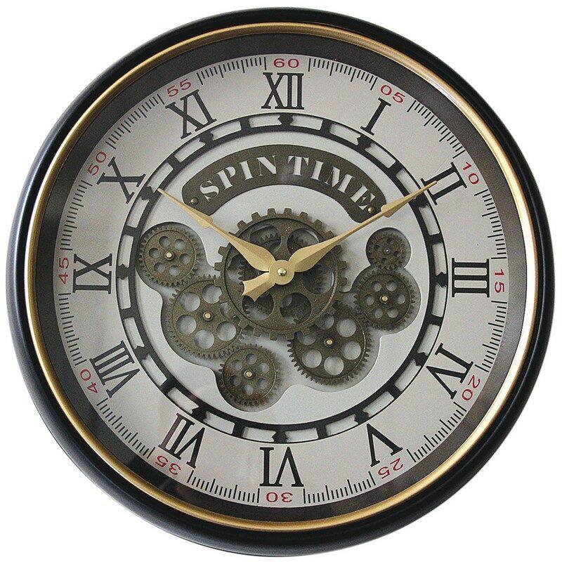 Horloge à engrenage Vintage 50 cm