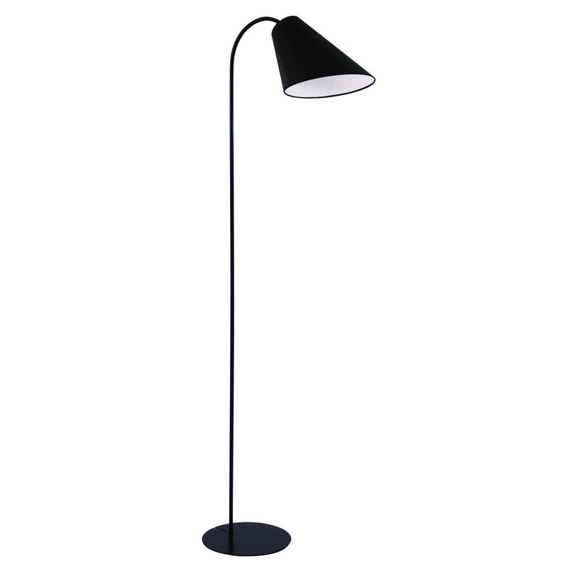 Lampadaire noir 1 lumière Popsy