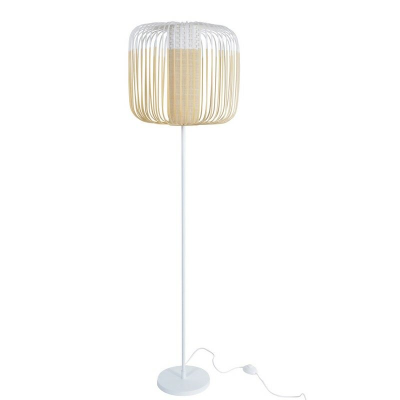 Lampadaire Bamboo light  blanc