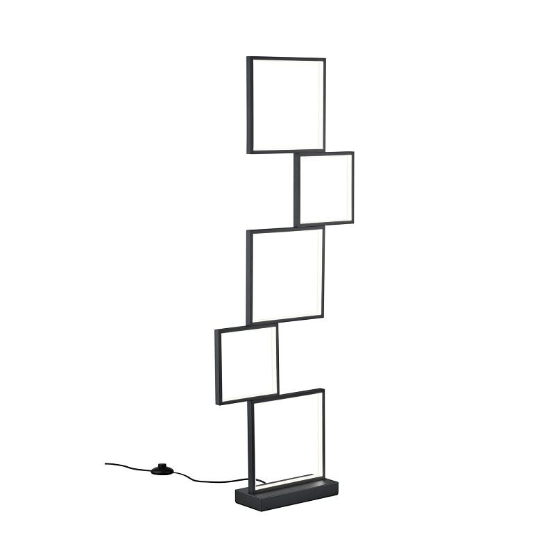 Lampadaire Sorrento LED noir mat