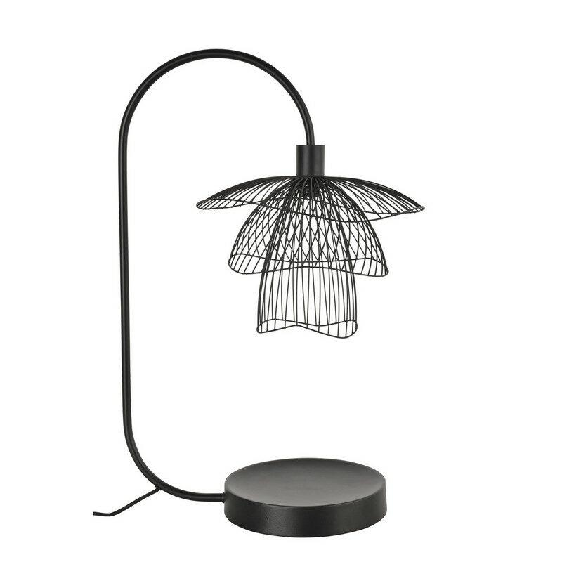 Lampe à poser Forestier Papillon xs noire