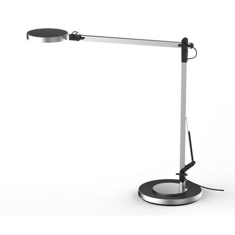 Lampe de bureau LED noire et grise Becky