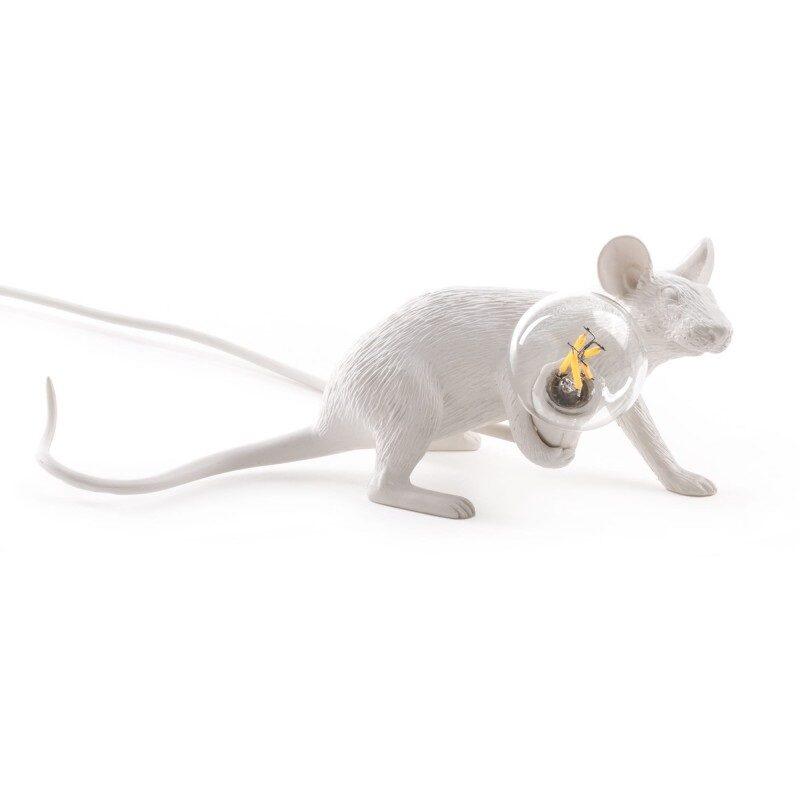 Lampe souris ampoule Mouse blanche – Seletti