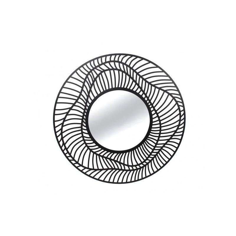 Miroir Œil filaire gris foncé