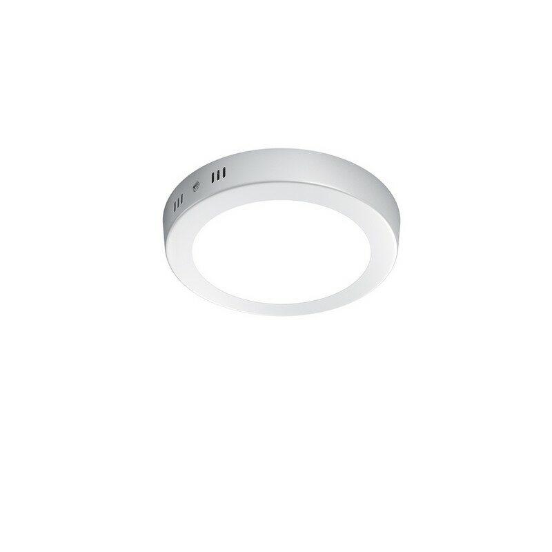 Plafonnier blanc LED 18 cm Cento