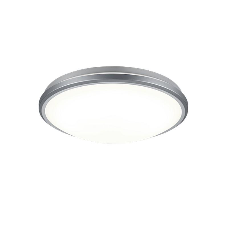 Plafonnier LED titane avec capteur de mouvement Alcor