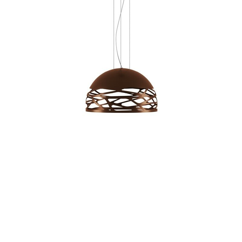 Suspension Studio Italia Kelly bronze dôme 50 cm