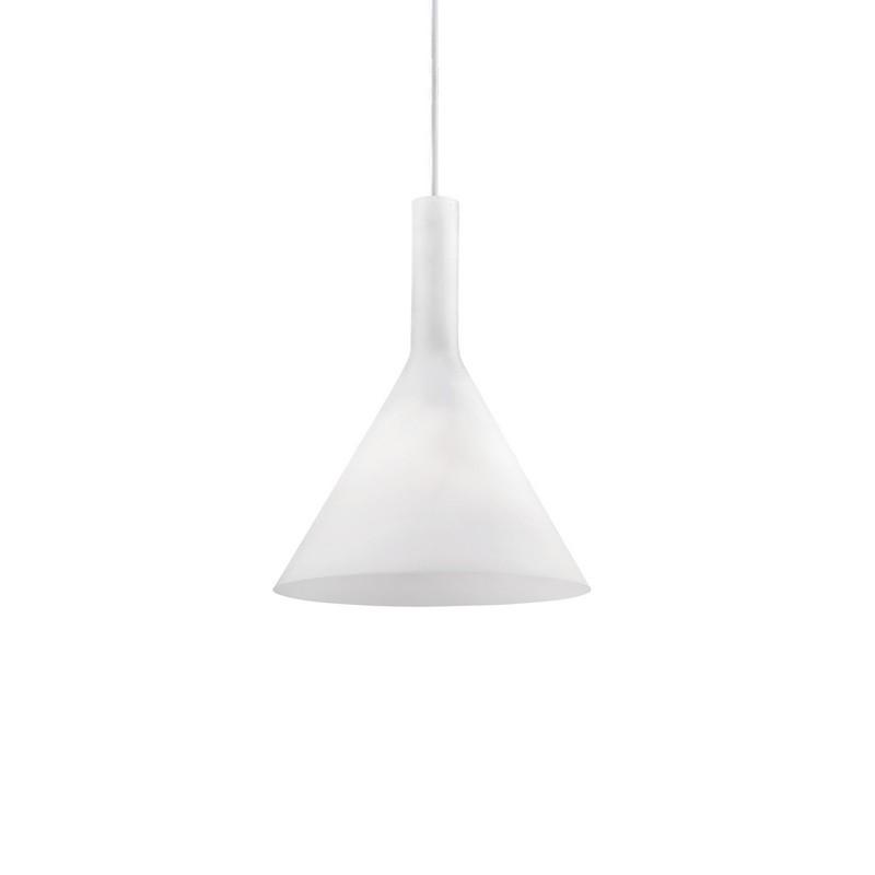Suspension conique blanche Cocktail petit modèle