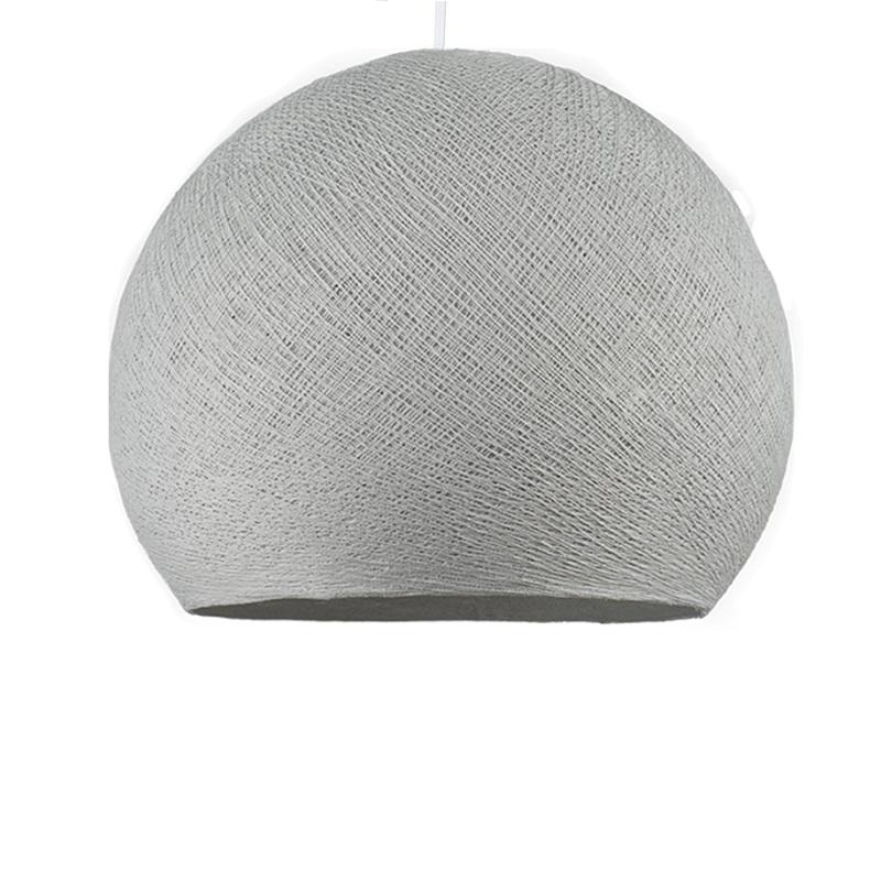 Abat-jour Coupole gris perle S à suspendre