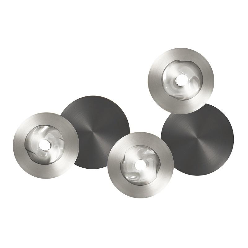 Applique originale Dots A 3 lumières nickel et graphite