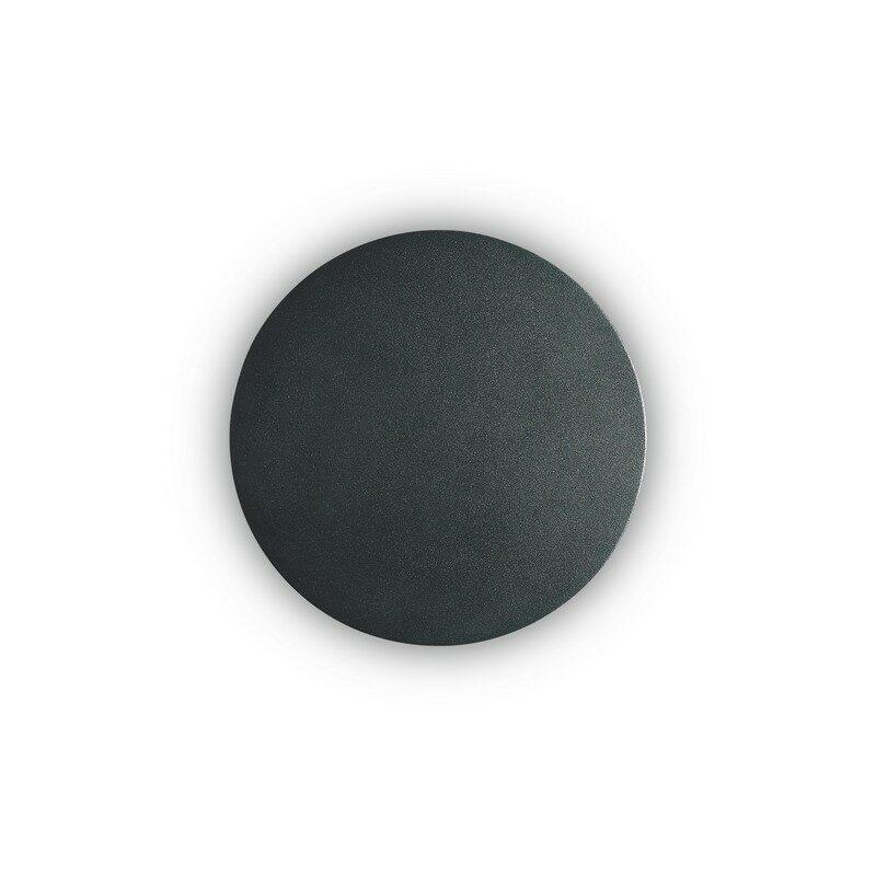 Applique ronde noire LED Cover 15 cm