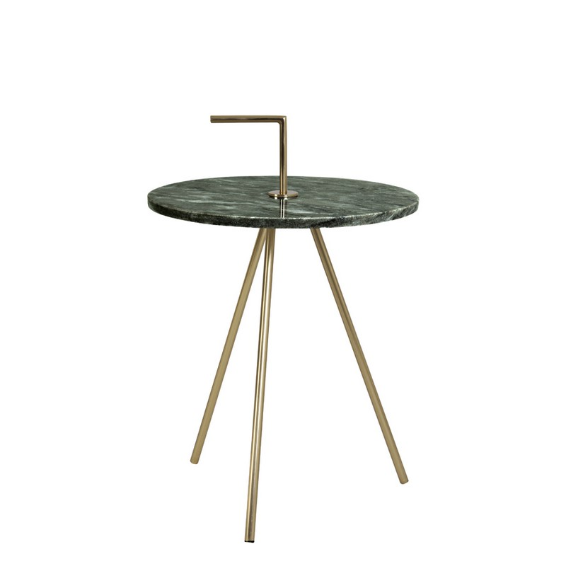 Table d'appoint marbre vert Moyuta