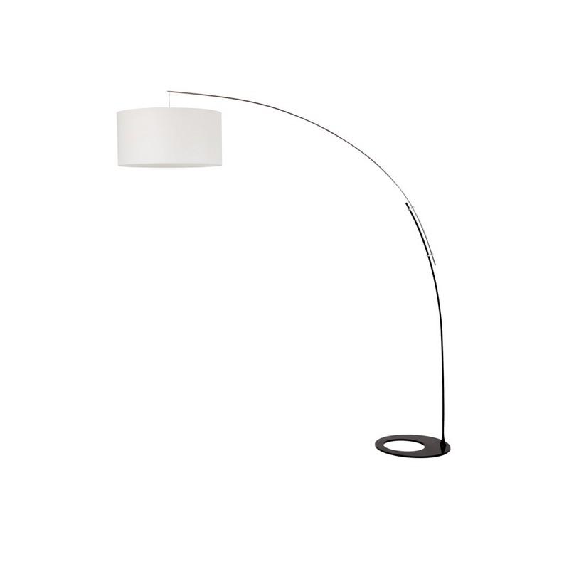 Lampadaire arc 1 lumière avec abat-jour Capec