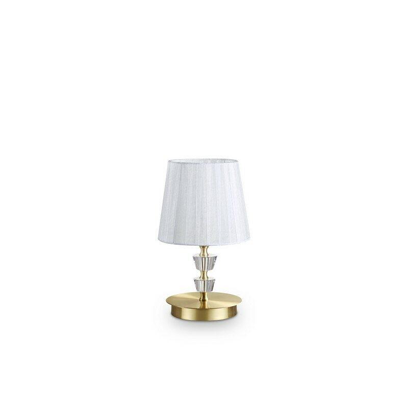 Lampe à poser laiton satinée Pegaso petit modèle