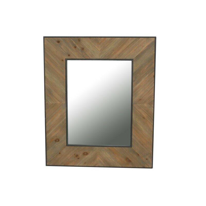 Miroir Chergui noir et bois