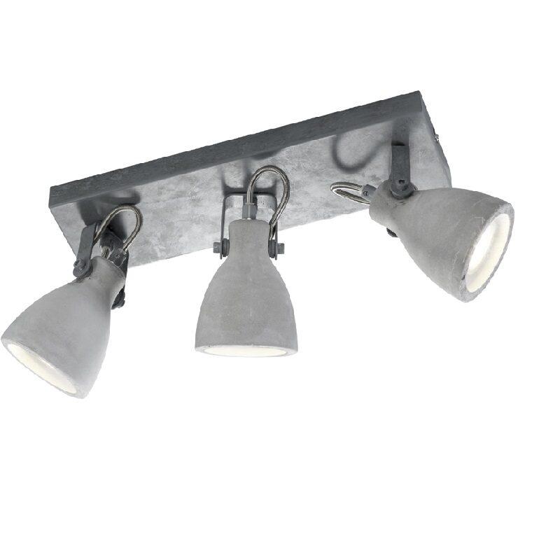 Réglette spot 3 lumières béton Concrete