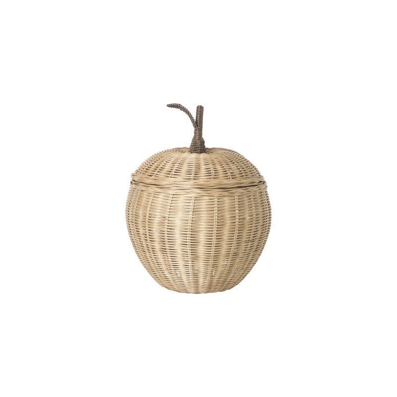 Rangement Apple tressage naturel