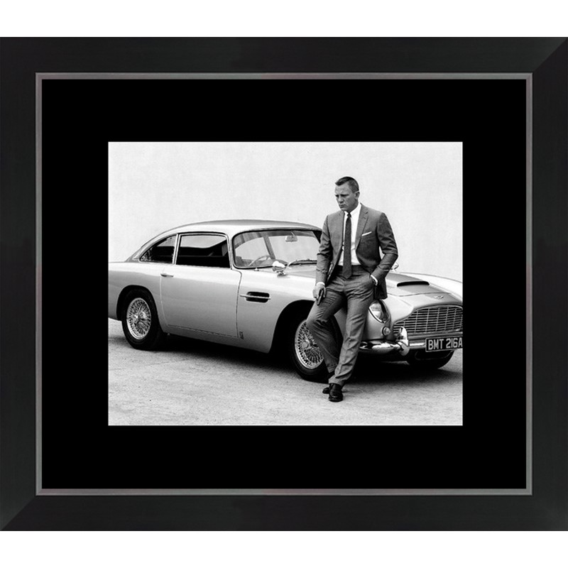 Tableau cinéma «James Bond»