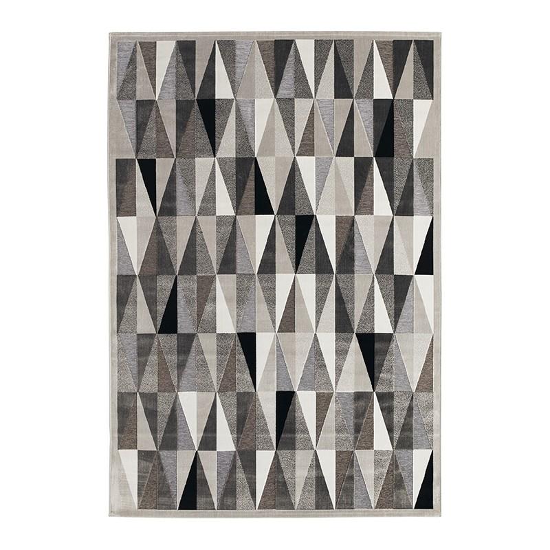 Tapis Gabrielle tons gris 195 x 280 cm