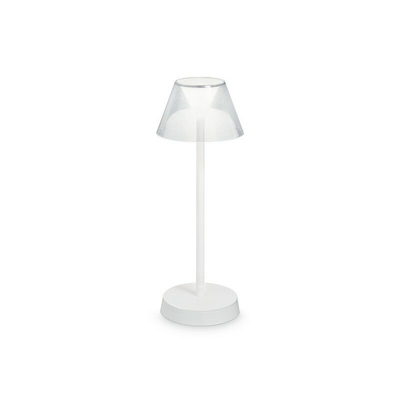 Lampe de table à batterie IP44 LED Lolita blanche